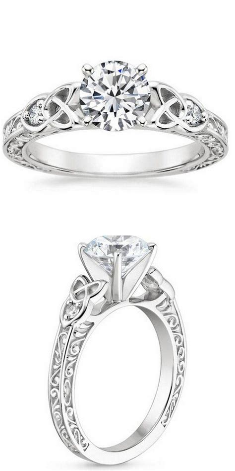 15 ideas of interlocking engagement ring wedding bands