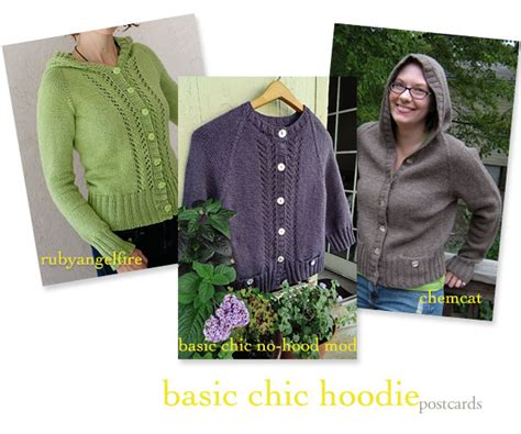 Ucan Hoddie chic knits knit 187 or no we want september