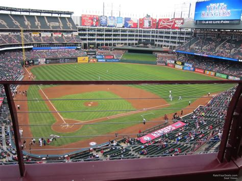 rangers sections globe life park section 329 rateyourseats com