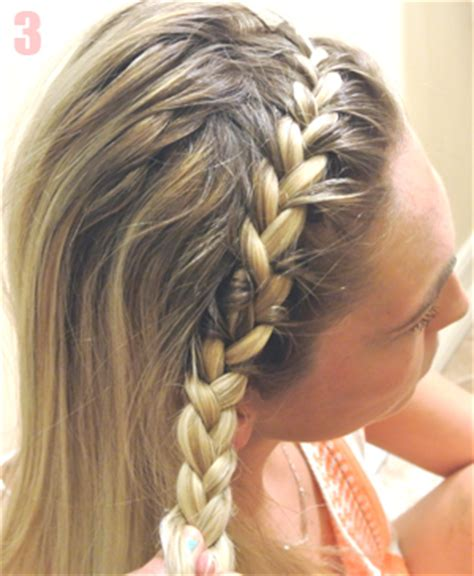 how to do a headband braid step by step how to create a braided headband