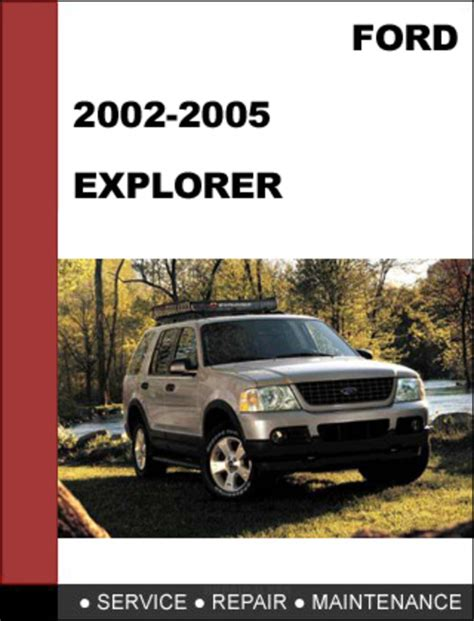 service manual car owners manuals free downloads 2005 ford explorer sport trac lane departure