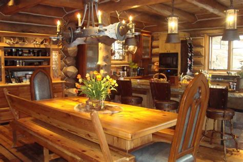 beautiful log cabin homes interior inspiration house