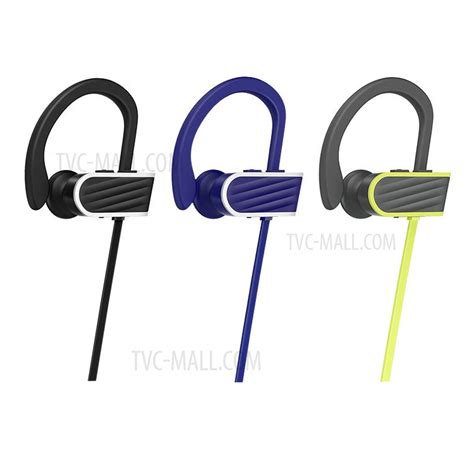 Hoco Stroke Embracing Wireless Bluetooth Sport Earphone Es7 hoco es7 ear hooks sport wireless bluetooth earphone with free mic for samsung s8 black