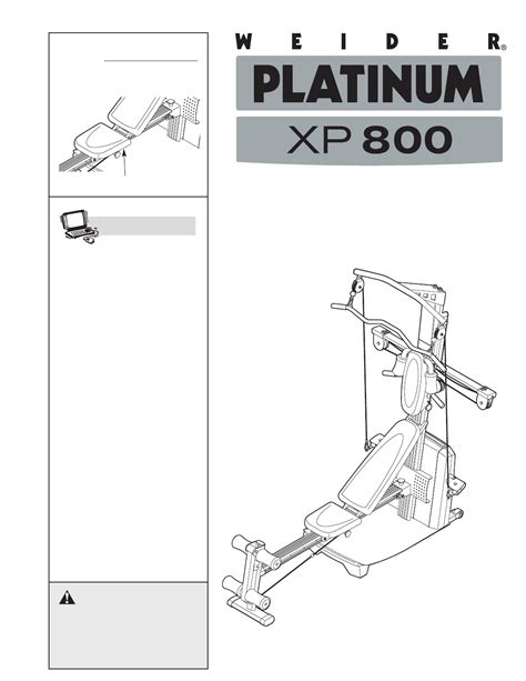 pin weider platinum xp 800 on