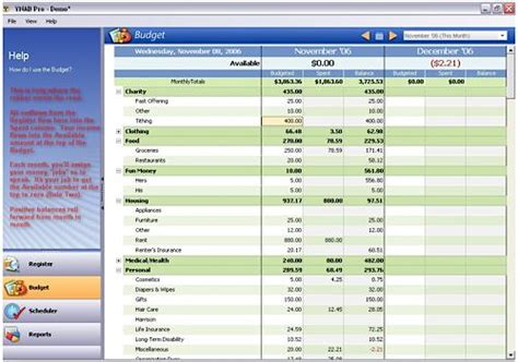 free budget software