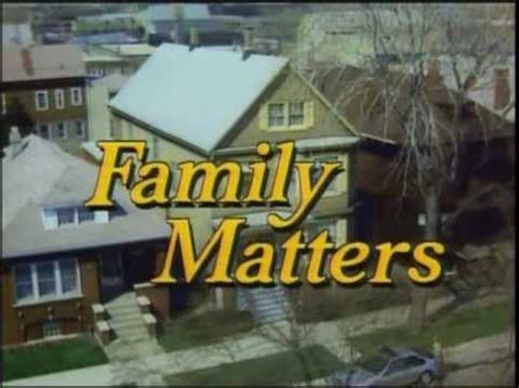 theme to family matters quot family matters quot opening theme song quot syndicated version