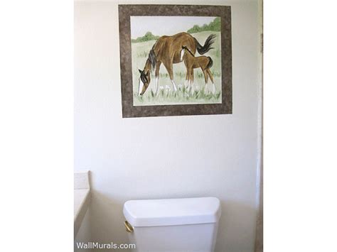 bathroom wall murals exles of wall murals painted in bathrooms and