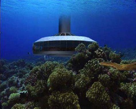 submarine house h2ome is your own underwater home at the bottom of the sea