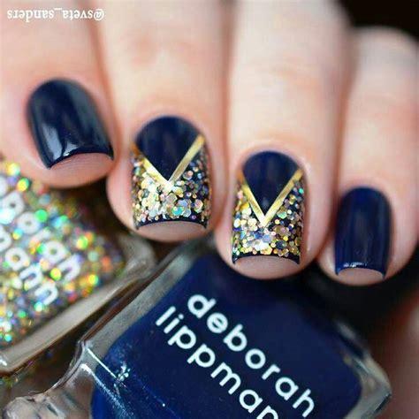 imagenes de uñas de acrilico azul marino 17 mejores ideas sobre u 241 as azul rey en pinterest u 241 as