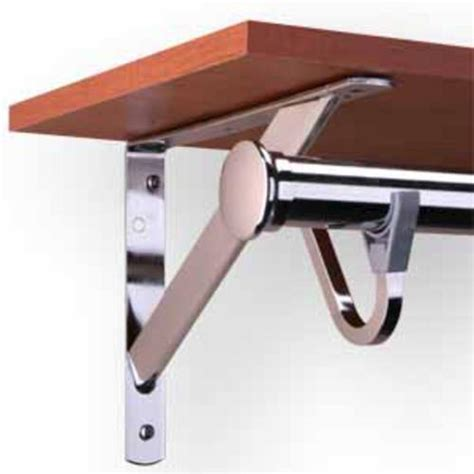 Closet Shelf Brackets And Rods by Closet Shelf Bracket Rod Ideas Advices For Closet