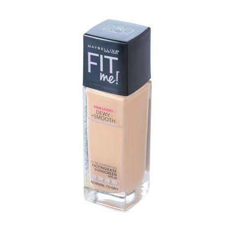 Maybelline Fit Me Foundation Review Harga jual maybelline fit me dewy smooth foundation 230