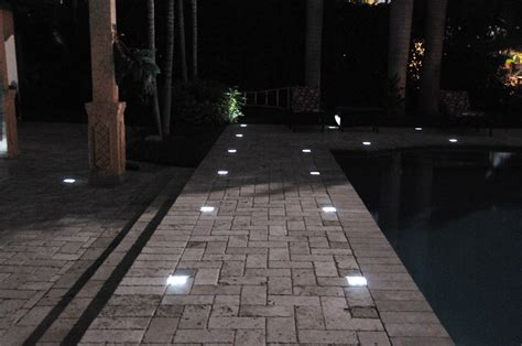 benefits of using solar paver lights the wooden houses