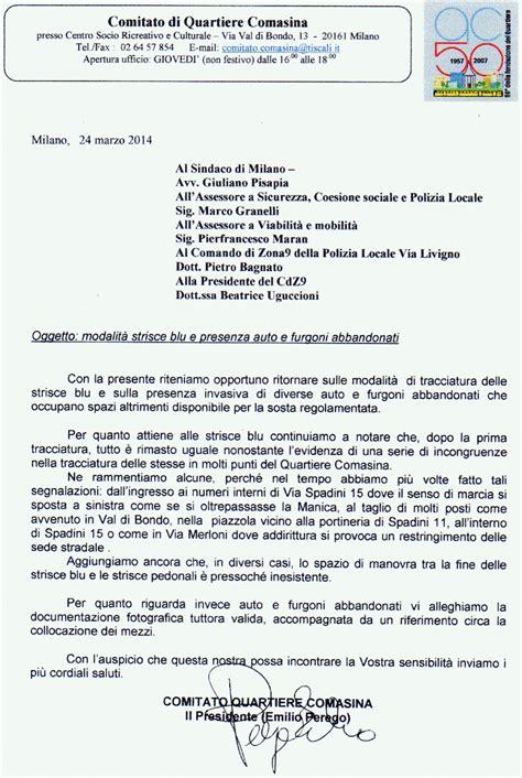 testo domenica da coma comitato quartiere comasina marzo 2014