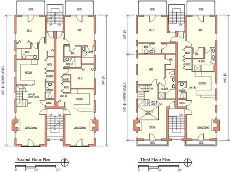 multi unit apartment floor plans foster dale architects