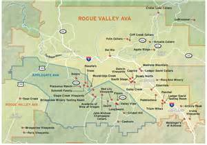 applegate valley oregon map 2012 wine guide rogue valley applegate map