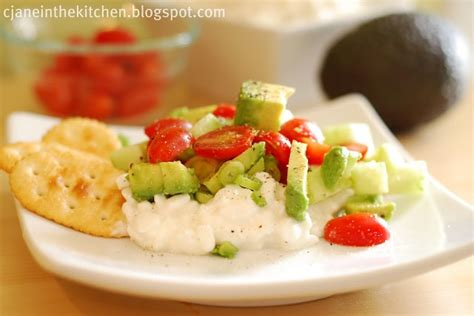 avocado cottage cheese snack food healthy pinterest