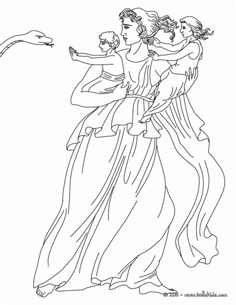 greek mythology coloring pages coloring home