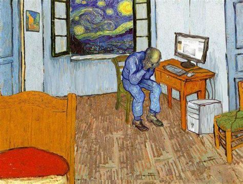 van gogh arles bedroom quot bedroom in arles quot vincent van gogh parodie art