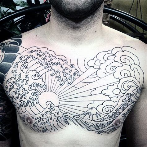 japanese waves tattoo 60 rising sun designs for japanese ink ideas