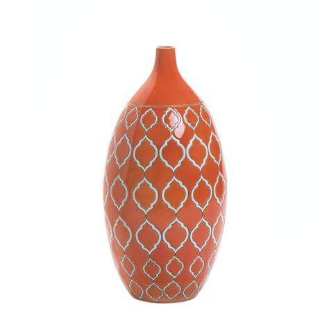 orange vase merit orange vase wholesale at koehler home decor