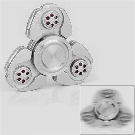 Fidget Spinner Keramik Ceramic Bearing Tri Spinner Toys 1 silver zinc alloy tri spinner fidget spinner focus edc