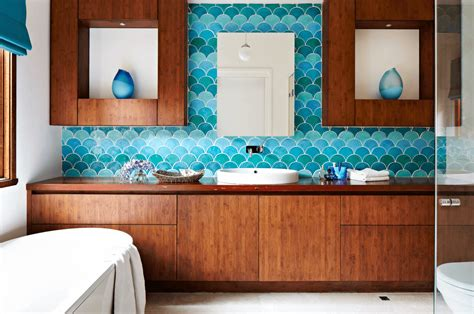 color of tiles for bathroom 10 ways to add color into your bathroom design freshome com