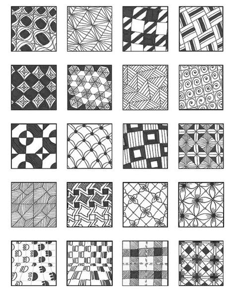 Zentangle Pattern Directory | 1000 images about zentangle patterns on pinterest