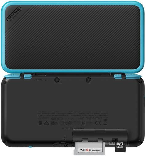 Nintendo New 2ds Xl Console Black Turquoise Bonus 1 nintendo 2ds xl black turquoise gamechanger