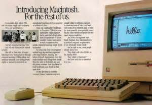 Remember 1984 Remember The Original Mac Advert by Felicidades Macintosh Imagen De La Semana