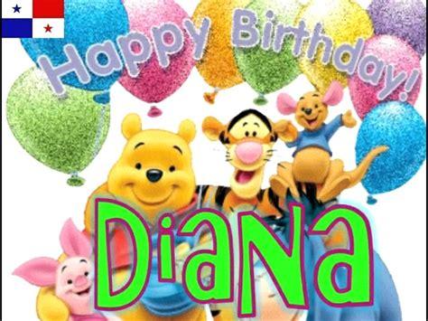 imagenes de feliz cumpleaños wilmer feliz cumplea 241 os diana cillo youtube