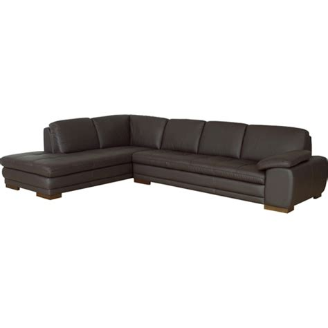 reverse sectional sofa diana sectional sofa reverse dark brown dcg stores