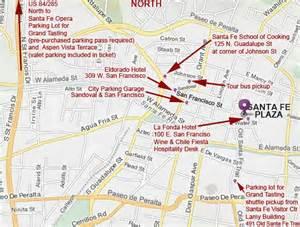 santa fe map images