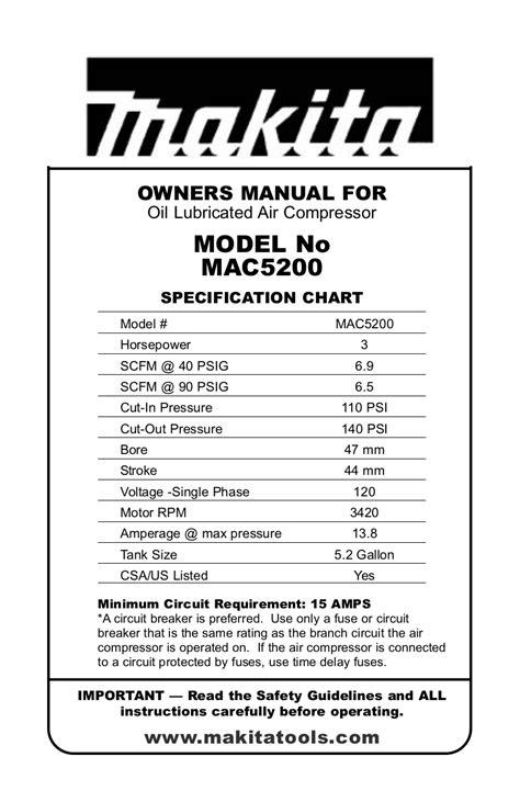 compress pdf manual download free pdf for makita mac5200 air compressor other
