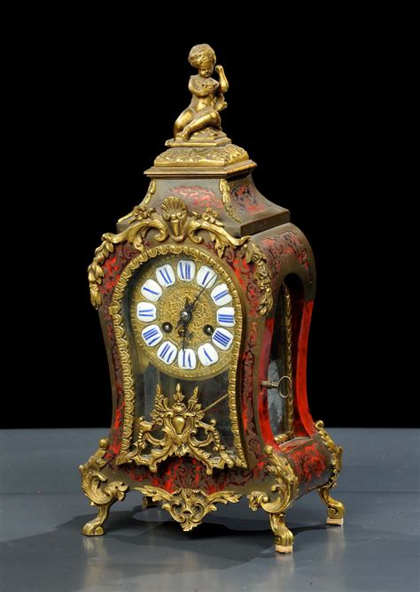 orologi da tavolo antichi orologio da tavolo tipo boulle inizio xx secolo