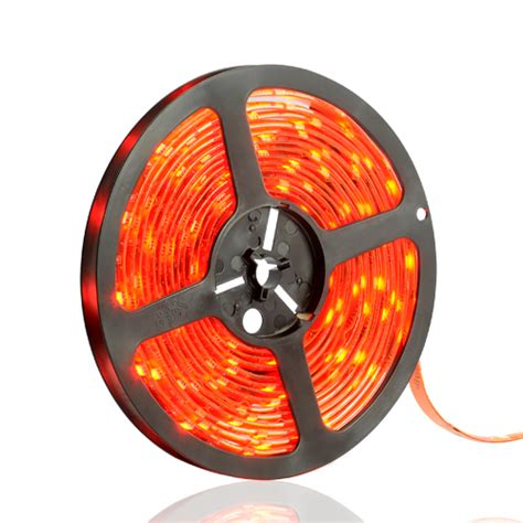 Lu Led Kuning Warm Roll 5m 4 8w Ip44 Smd 2835 3528 ultralux lsw352860r led smd3528 4 8w m 12v dc 60 leds m 5m waterproof ip65