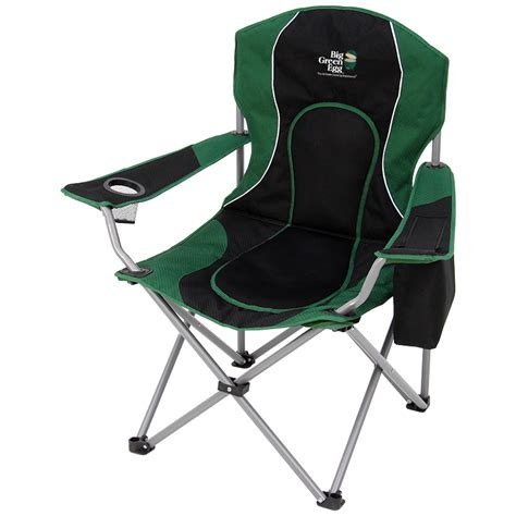 folding recreational chair big green egg