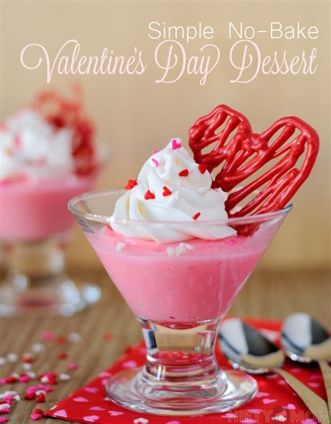 easy valentines desserts simple no bake s day dessert