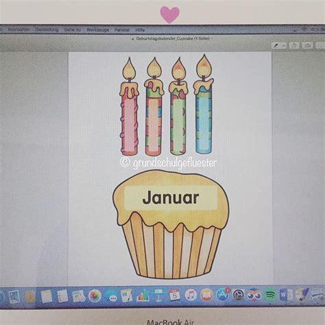 Geburtstagskalender Basteln Grundschule by Die Besten 25 Geburtstagskalender Grundschule Ideen Auf