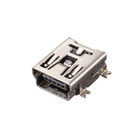 Kr06160 Usb Port Type B Soldering new 10pcs 5 pin socket mini usb type b smd