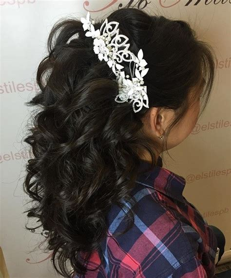 Wedding Hairstyles Half Up Curly by Half Up Half Wedding Hairstyles 50 Stylish Ideas