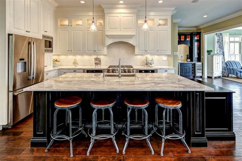 how big is a kitchen island lot 855 norton commons traditional kitchen