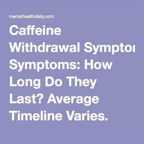 How Does Caffeine Detox Last by 17 Best Images About Thrive On Messages