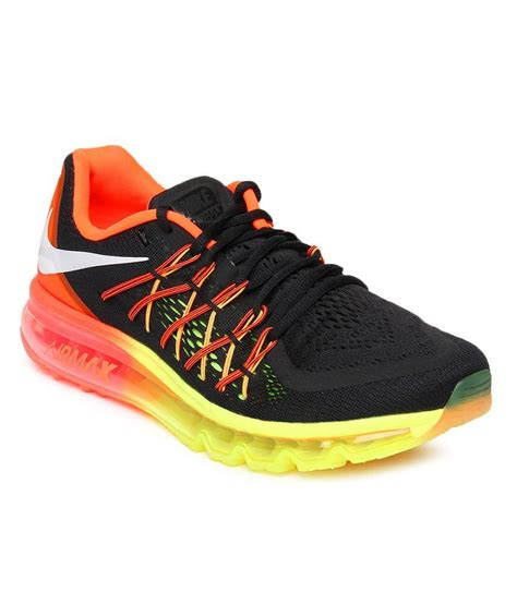 sport shoes 2015 nike air max 2015 black sport shoes price in india buy