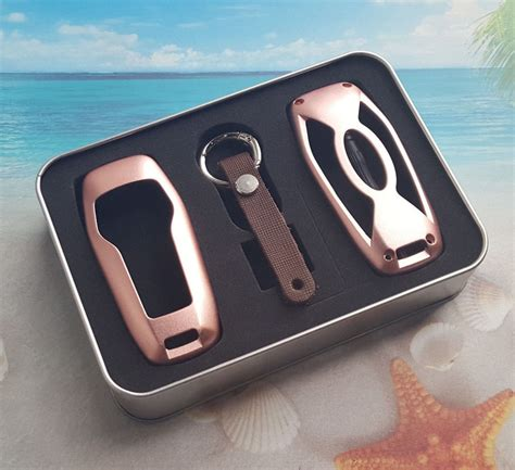13 17 ford mustang aluminum gold remote smart key