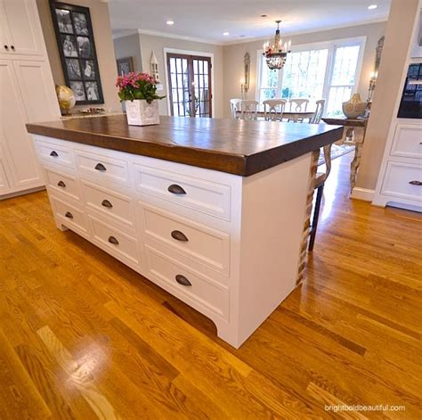 kitchen block island butcher block island tops woodworking projects plans