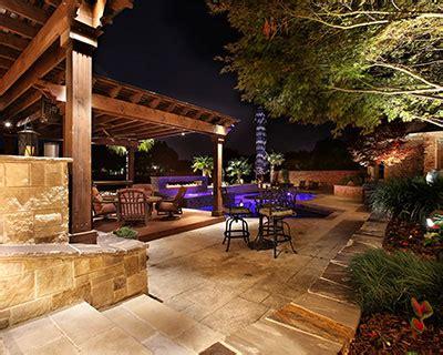landscape lighting design dallas fort worth plano