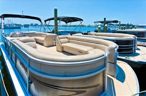 ski boat rental destin fl destin pontoon jet ski rental package tripshock