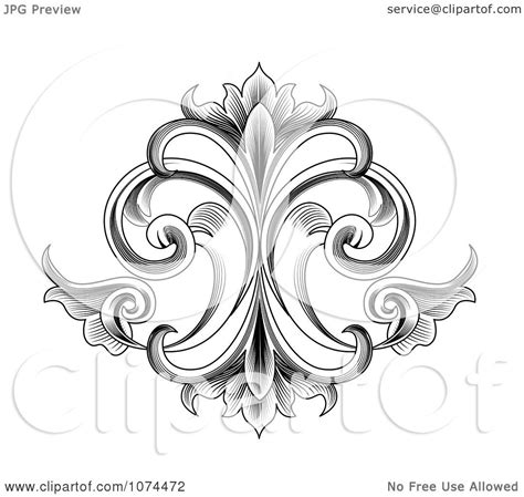 victorian tattoo designs with scrollwork scroll work