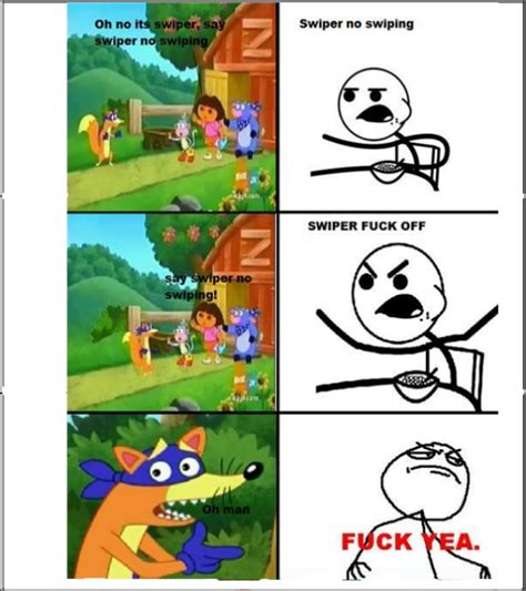 Swiper The Fox Meme - swiper no swiping