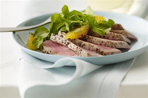 Tuna Blackpepper King Sandwich seared black pepper crusted ahi tuna steaks recipe